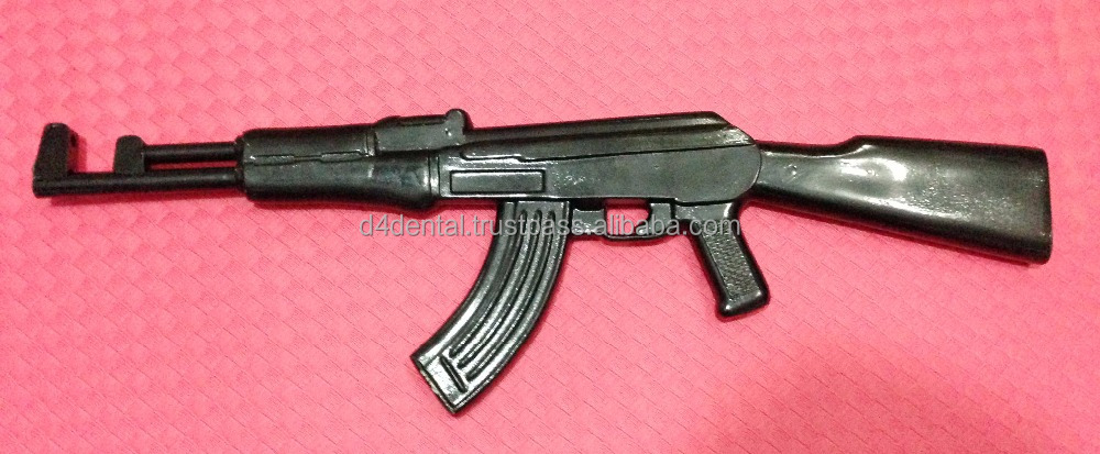 Training Plastic Gun / Rifle AK-47 Defence Police Army MMA Practice Training Tools & Weapons