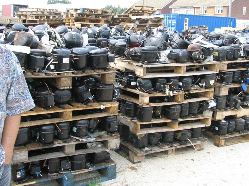 Used AC and Fridge compressor scrap for sale!!!