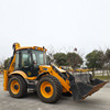 Backhoe loader JCB 4CX for sale, cheap used UK backhoe loader 4CX in Shanghai