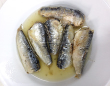 Canned Sardines in Vegetable Oil 155g