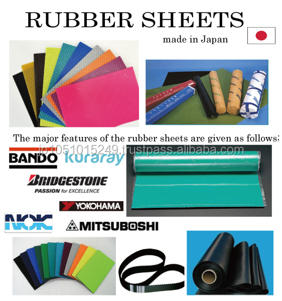 Easy to use and Best quolity crepe sole rubber sheet for industrial use BANDO , kuraray , BRIDGESTONE , MITSUBOSHI , NOK , YOKOH