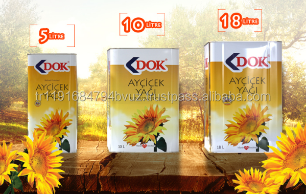 Top Quality Refined Cooking Turkey 18 liter Tin %100 Sunflower seed oil