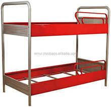 Metal Bunk Bed For Two - For Dormitory, Universities, Hostels - D800