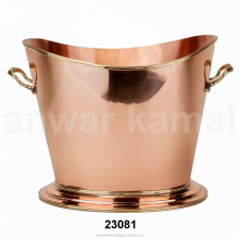 BPA FREE SOLID COPPERS ICE BUCKETS 100% PURE COPPER WINE COOLER