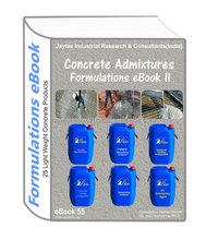 Concrete Admixtures Manufacturing 25Formulations eBook II(eBook55)