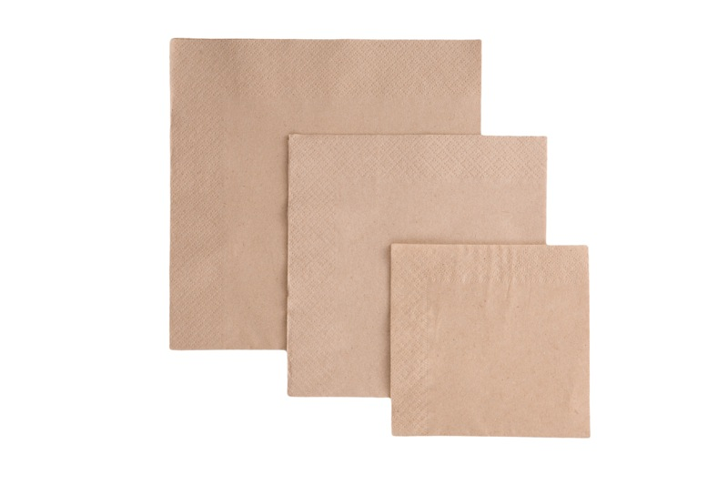 Unbleached bamboo tissues and wipes