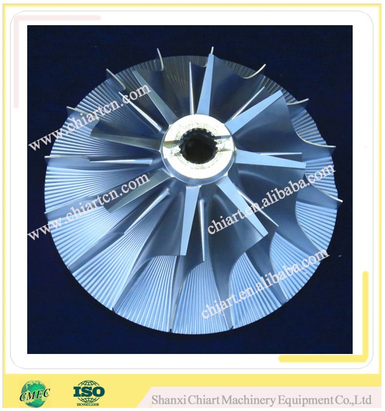 Factory\manufacturer super alloy diesel locomotive turbine compressor impeller