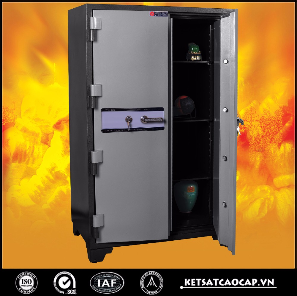 double door WELKO Fire Resistant Safes- B1650 (1000)