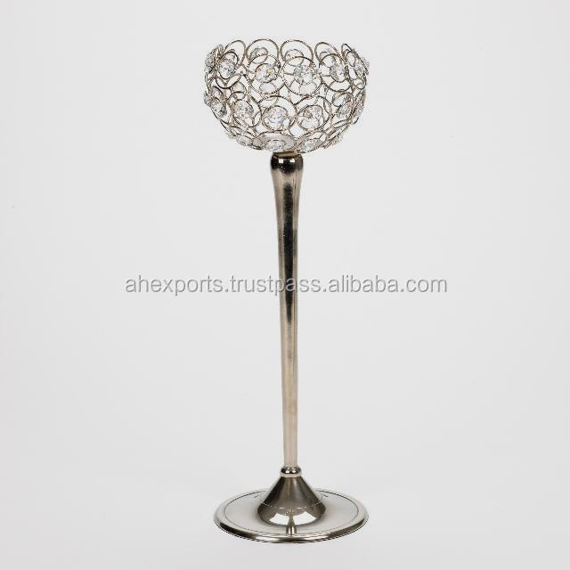 Christmas Decoration Crystal Candle Holder