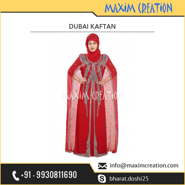 Designer Wear Farasha Caftan For Daily Use by Maxim Creation