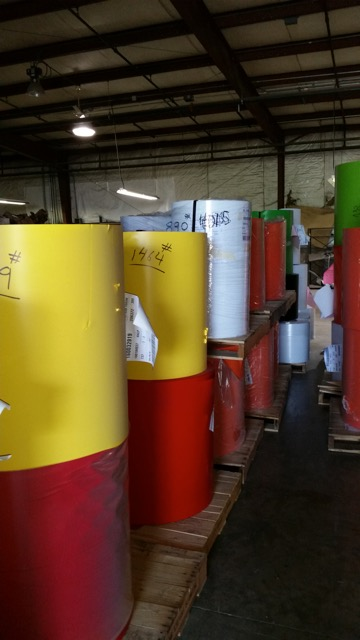 PVC Flexible Color Rolls Metalized