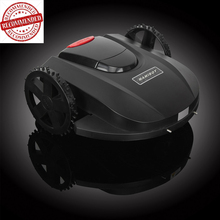 2016 Highly recommended intelligent remote control garden electric mower with Lithium battery for sale ROMO M2
