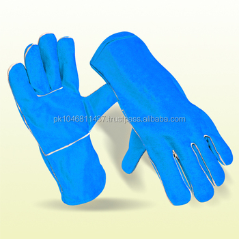 Cow Leather Welding Work Gloves