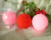 Candle Wedding Favors - Deluxe 7cm Rose Ball Candle in Gift Box