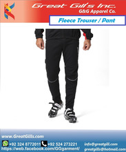 Baseball custom color 80%cotton & 20%polyester fleece trouser/pant/pajama for Adult, mens, women