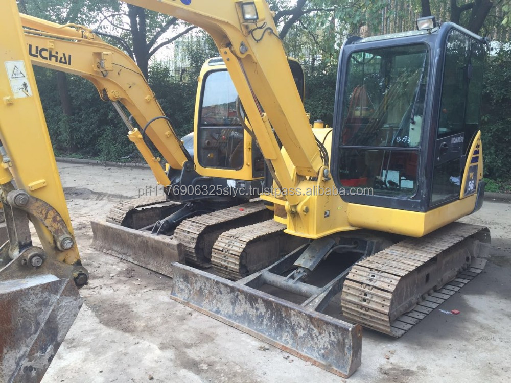 Secondhand Machinery Komatsu PC56-7 Mini Hydraulic Excavator