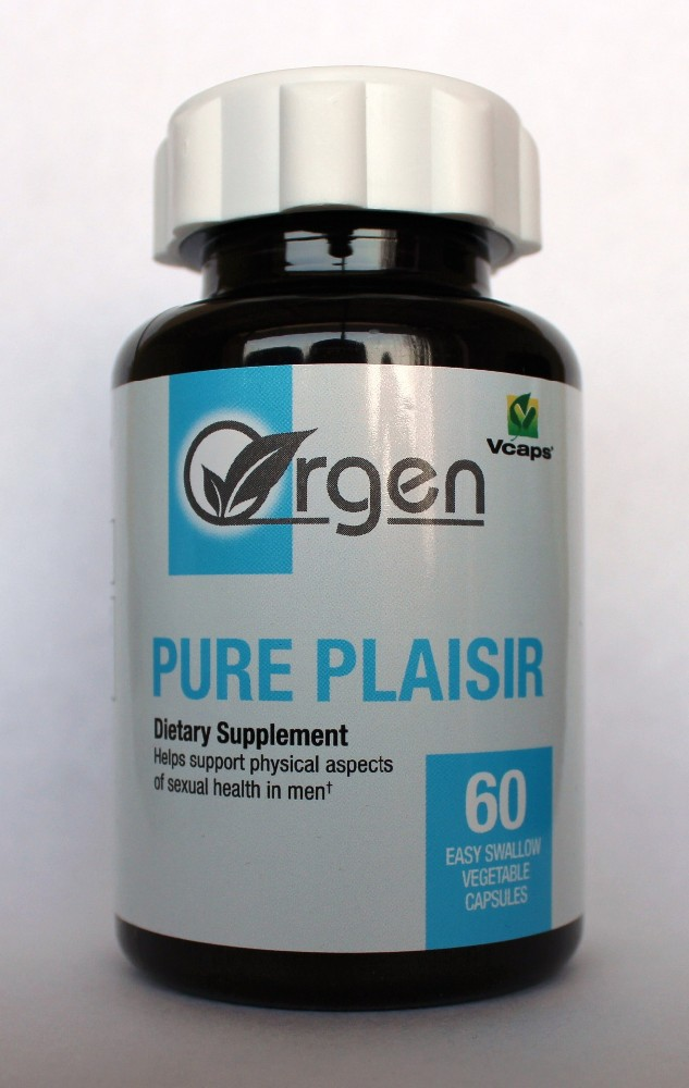 Pure Plaisir - Men's Sexual Health - Korean Ginseng. Ashwagandha, Ginkgo biloba, Tribulus, Velvet bean, L-Arginine, Tongkat Ali