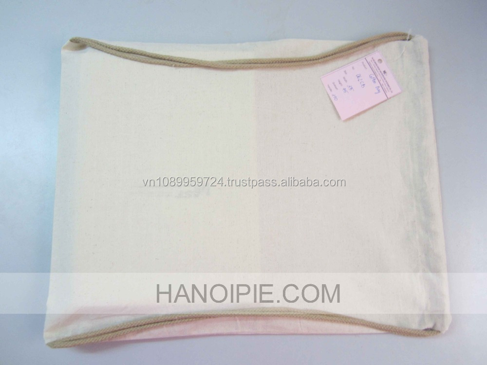 50-120g non woven/ nylon/ polyester/cotton Material drawstring bag/ Jute Packaging Bag