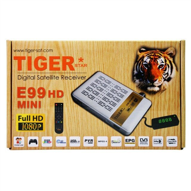 Tiger e99 mini satellite receiver mepg4 set top box