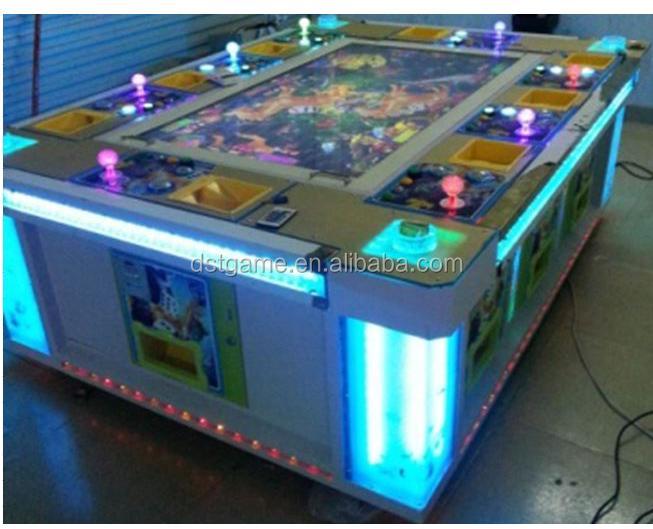 Fish hunter arcade game machine tiger strike fishing game for Fish game machine
