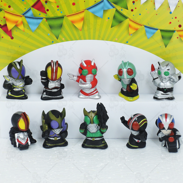 Cake Decoration Kamen Rider 10pcs