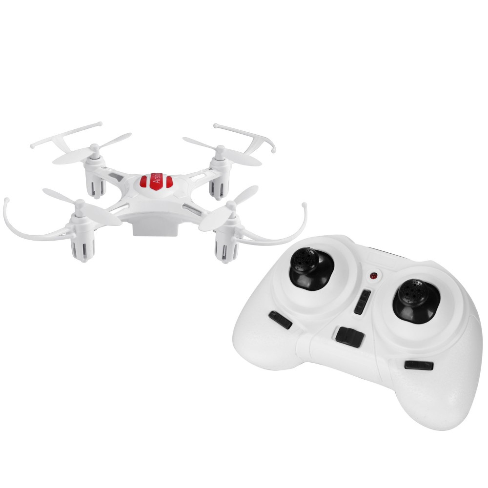 Arshiner Mini 2.4Ghz 2.4G 4CH 6 Axis Gyro Quadrocopter LED 360 Degree Eversion Aircraft Quadcopter Kit