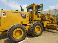Used CAT 16G motor grader for sale, 25T 250hp USA original,also CAT 12G/12H/14G/140H/140K