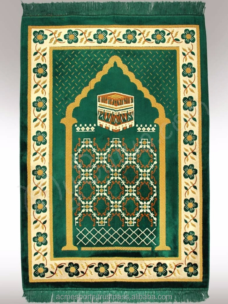 prayer mats - wall hangings and mosque rugs and Islamic High end mosque rugs for prayer room ,