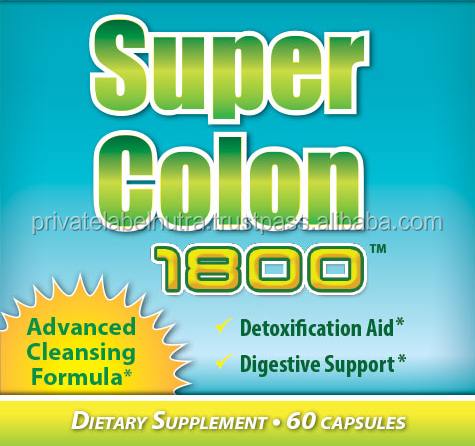 HOT SALE Best Price GMPc Nutritional Supplement ( Capsules ) SUPER COLON CLEANSE