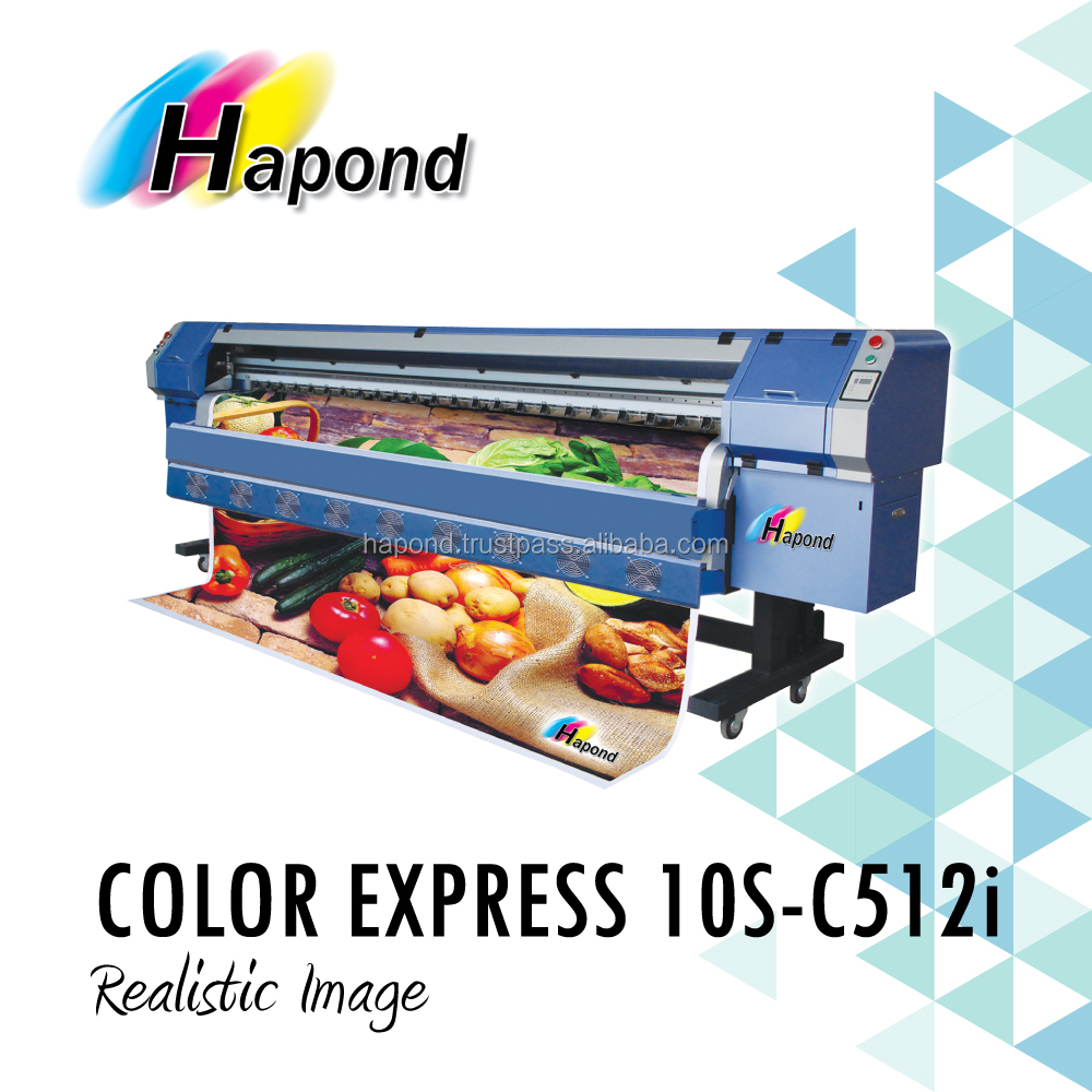 3.2m Solvent Printer - COLOR EXPRESS 10S-C512i
