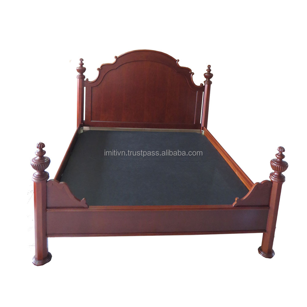 all sizes luxury home furniture customized wooden double furniture bed