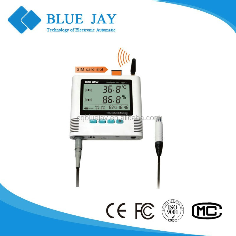 S 520-EX-GPRS 0.3 class measurement accuracy temperature and humidity data logger with external probe