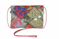 Indian Tribal Banjara Handbags Clutch Evening Bag Ethnic Mirror Work Sling Bag Watch Work Handbags