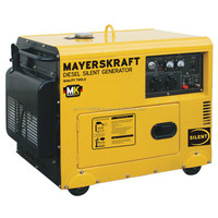 Mayerskraft MKDF6000ALDE Diesel Power Generator, 5200 Watt rated power