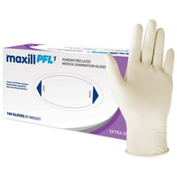 maxill PFL1 Powder Free Latex Gloves