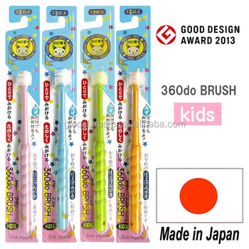 Japan Popular and Durable whitening teeth 360 degree toothbrush wholesale