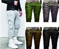 Biker style joggers pants / Fashion jogger pants with custom sizes and logos