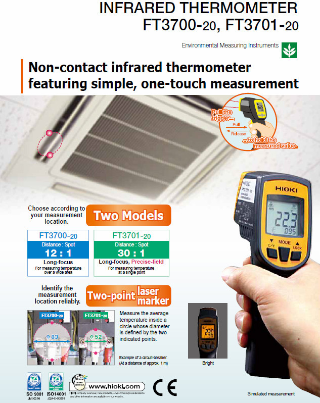 Complete ac dc clamp meter price is low-cost with pocket size made in Japan