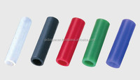 Plastic (PTFE) hollow tube spacer for semiconductor /black,natural white,green,blue,red tube