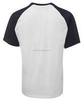 Two tone tee shirt body fitted