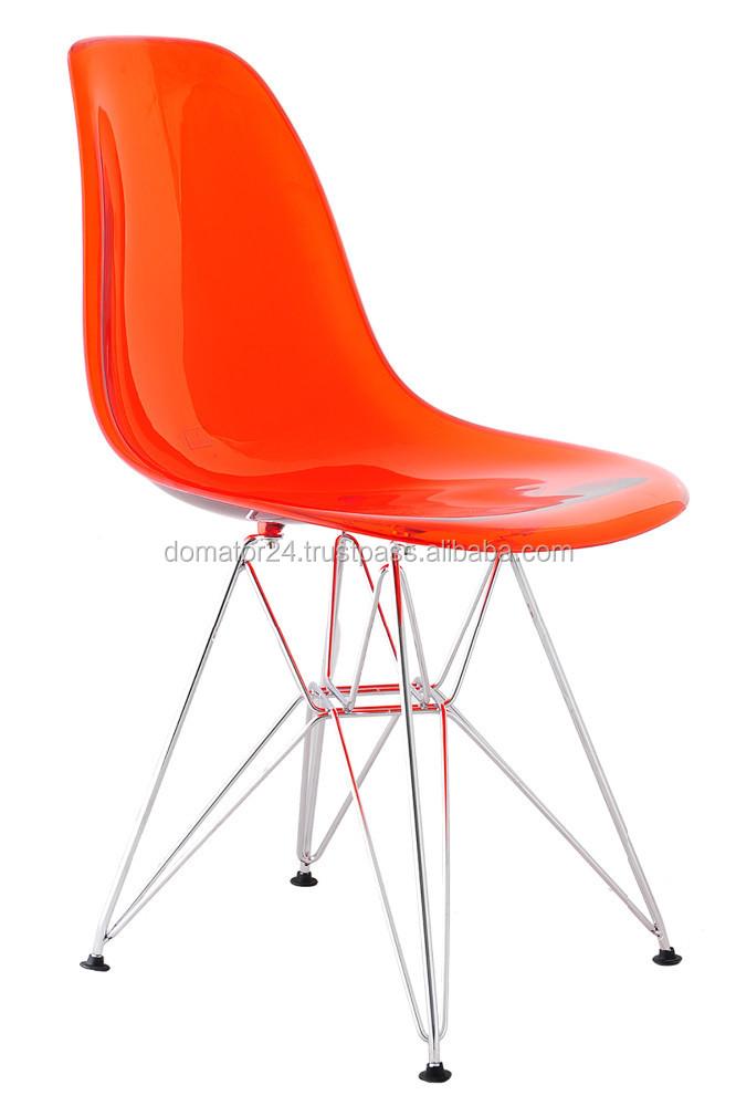Pepe Gotti Transparente Chaise Pour Salon Ou La Cuisine
