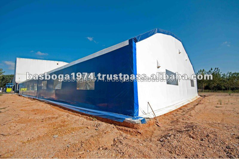 30x50m Steel Structure Industrial Storage Warehouse Tent