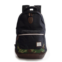 Various colors of nylon laptop backpack bag by Japanese company