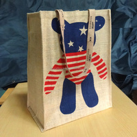Popular jute Bag in North America Standard