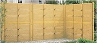 High quality and Durable bamboo garden fence with good design made in Japan