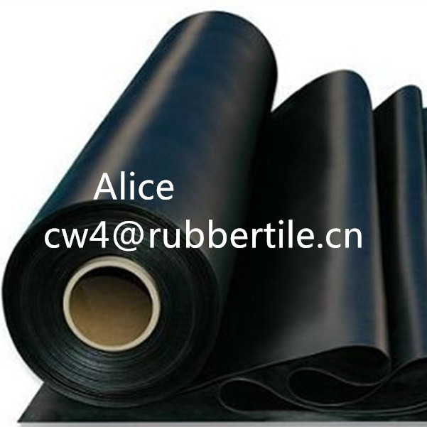 adhesive backed rubber sheet/Rib rubber sheet/Recycle rubber sheet