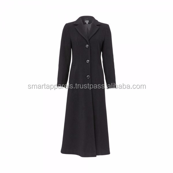Muslim Women Long Coat - Buy Ladies Wool Long Coats / Sleeveless ...