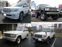 Durable and Reliable used toyota land cruiser pickup for irrefrangible accept orders from one car