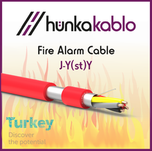 PVC Sheath Fire Alarm Cable J-Y(st)Y Cable Turkish Manufacturer