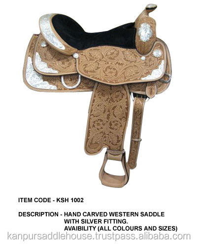Luxury Horse western saddles